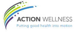 Logo for Action Wellness